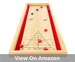 Hey! Play! Tabletop Shuffleboard Game
