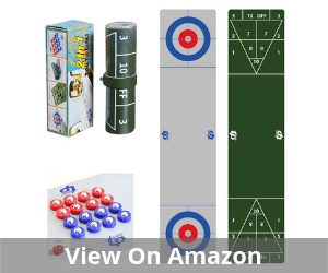 TORPSPORTS 2 in 1 Table Top Shuffleboard