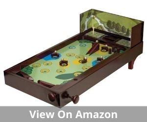 Wooden Golf Recreational Desktop Pinball Game