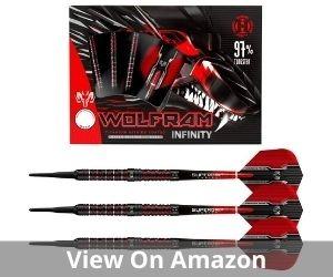 Harrows Wolfram Infinity 97 Tungsten Soft Tip Darts